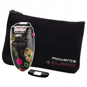 Epilator ROWENTA Custo Silence Soft EP5604 retea 2 viteze negru mov