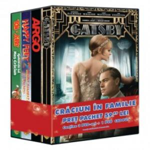 Pachet 4 DVD Craciun in familie 3