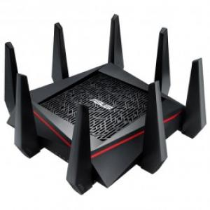 Router Wireless ASUS RT AC5300 Tri Band 1000 2167 2167 Mbps USB 30 USB 20 negru