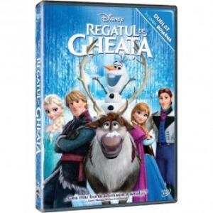 Frozen Regatul de Gheata DVD