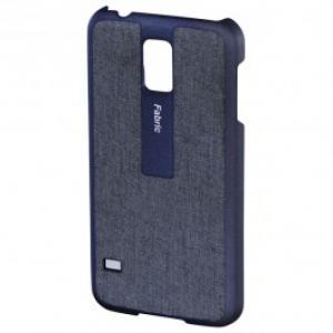 Carcasa de protectie pentru Samsung Galaxy S5 HAMA Fabric 124684 Blue