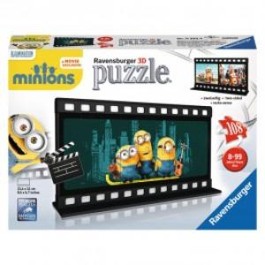 Puzzle 3D Ravensburger Minions Diafilm 108 piese