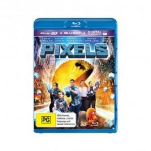 Pixels O aventura digitala Blu ray 3DDVD