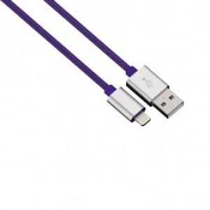 Cablu de incarcare sincronizare Lightning pentru iPhone HAMA 80526 Color Line Blue
