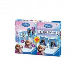 Puzzle si Joc Memory RAVENSBURGER Frozen 253649 piese