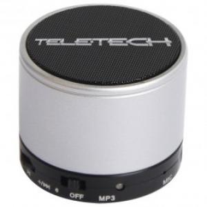 Boxa portabila TELETECH DC 0601SR Bluetooth 30 3W argintiu