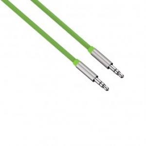 Cablu conexiune Jack Jack 35mm pentru smartphone HAMA 80533 Color Line 1m Green