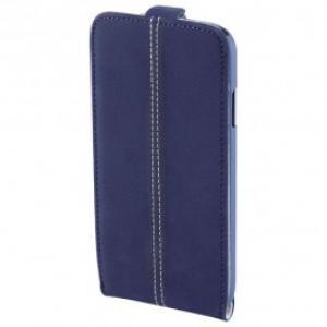 Husa Flip Cover pentru Samsung Galaxy S4 HAMA Smart Case Nubuck 122913 Navy