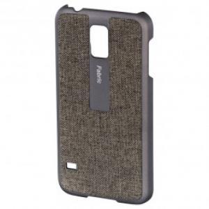 Carcasa de protectie pentru Samsung Galaxy S5 HAMA Fabric 124682 Bej