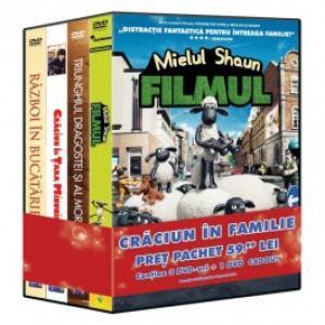 Pachet 4 DVD Craciun in familie 2