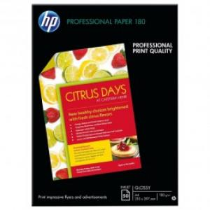 Hartie inkjet lucioasa HP Professional C6818A A4 50 coli
