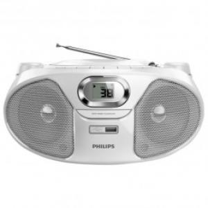 Radio CD Soundmachine PHILIPS AZ385W12 alb