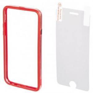 Bumper Folie de protectie pentru iPhone 6 Plus HAMA Edge 135052 Red