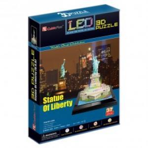 Puzzle 3D CUBICFUN CBF4 Statuia Libertatii