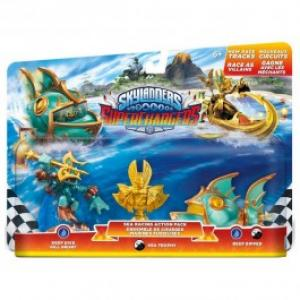 Set Figurine Sea Racing Skylanders Superchargers