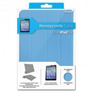 Husa de protectie tip stand ISOUND Honeycomb 6274 pentru iPad Air albastru