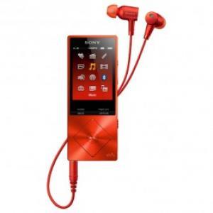 MP4 player SONY NW A25HNR 16GB Cinnabar Red