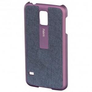 Carcasa de protectie pentru Samsung Galaxy S5 HAMA Fabric 124683 Mov