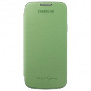 Husa Flip Cover pentru Samsung Galaxy S4 mini SAMSUNG EF FI919BGEGWW Yellow Green