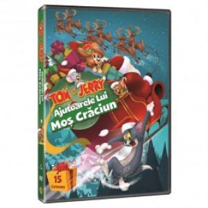 Tom si Jerry Ajutoarele lui Mos Craciun DVD