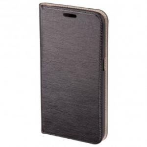 Husa Flip Cover pentru Samsung Galaxy S6 HAMA Slim Booklet 136711 Dark Grey