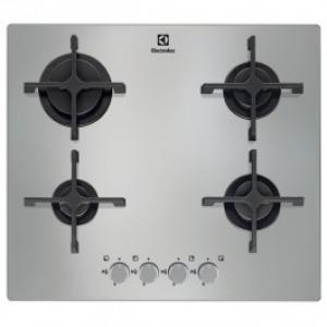 Plita incorporabila ELECTROLUX EGT6342NOX gaz 4 arzatoare sticla