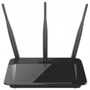 Router Wireless D LINK DIR 809 Dual Band 300 433 Mbps WAN LAN negru