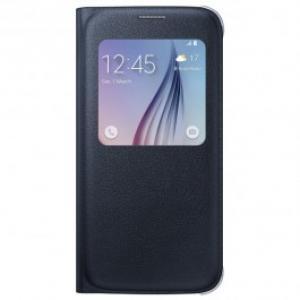 Husa S View Cover pentru Samsung Galaxy S6 SAMSUNG EF CG920PBEGWW Black