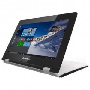 Laptop 2 in 1 LENOVO Yoga 300 Intel® Celeron® N3050 pana la 216Ghz 116 HD 4GB 500GB Intel® HD Graphics Windows 10 White
