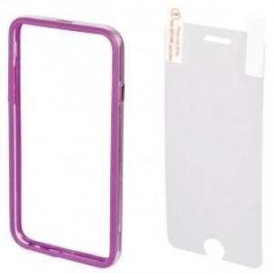Bumper Folie de protectie pentru iPhone 6 Plus HAMA Edge 135055 Purple