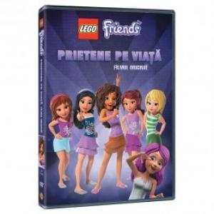 Lego Friends Prietene pe viata DVD