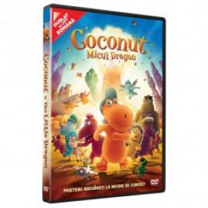 Coconut Micul Dragon DVD