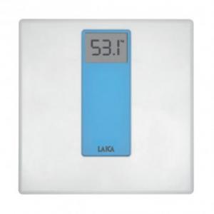 Cantar de persoane LAICA PS1045B digital sticlaplastic 180kg alb albastru