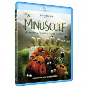 Minuscule Aventura furnicutelor ratacite Blue ray 2D 3D
