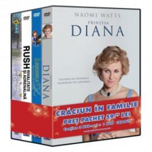 Pachet 4 DVD Craciun in familie 1