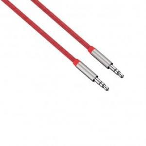 Cablu conexiune Jack Jack 35mm pentru smartphone HAMA 80531 Color Line 1m Red