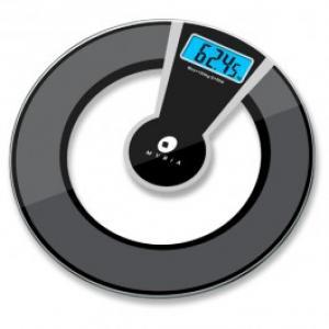 Cantar de persoane MYRIA B903 electronic functie vocala 180kg afisaj LCD negru gri