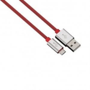 Cablu de incarcare sincronizare microUSB universal HAMA 80512 Color Line Red