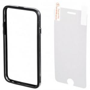Bumper Folie de protectie pentru iPhone 6 HAMA Edge 135031 Black