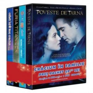 Pachet 4 DVD Craciun in familie 5