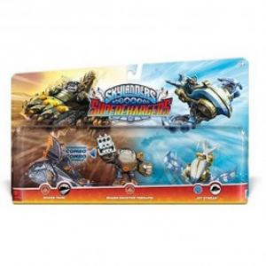Set 3 figurine Shark Shooter Terrafin Shark Tank Jet Stream Skylanders Superchargers