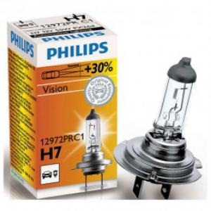 Bec far PHILIPS Vision 12972PRC1 30 H7 12V 55W
