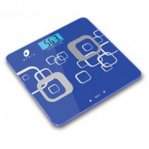 Cantar de persoane cu analiza corporala MYRIA B808 electronic 180kg afisaj LCD albastru