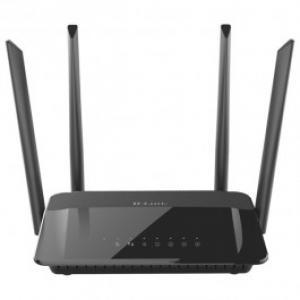 Router Wireless D LINK AC1200 DIR 842 Dual Band 300 867 Mbps WAN LAN negru