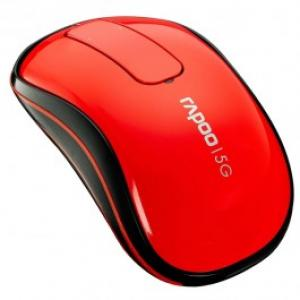 Mouse Wireless RAPOO T120P Touch USB 5GHz rosu