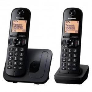 Telefon DECT PANASONIC KX TGC212FXB display 16 50 memorii speaker negru