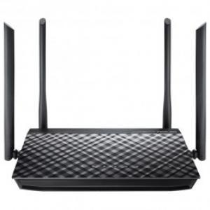 Router Wireless ASUS Gigabit RT AC1200G Plus Dual Band 300 867Mbps WAN LAN USB 20 negru