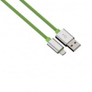 Cablu de incarcare sincronizare Lightning pentru iPhone HAMA 80527 Color Line Green